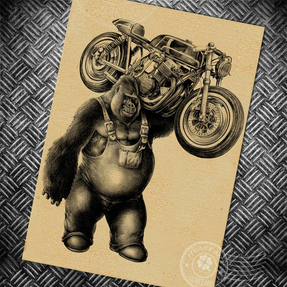 Route 66 Motorcycle Posters