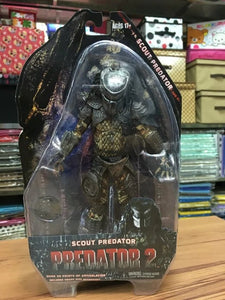 "Predators 2 Warrior Predator Lost Predator Scout Predator PVC Action Figure Collectible Model Toy 7"" 18cm KT2448"
