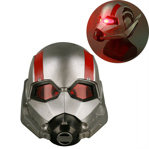Marvel Movie Ant-Man and The Wasp LED Helmet Ant-man Mask Cosplay Scott LED Helmet Mask Props Halloween Party Prop