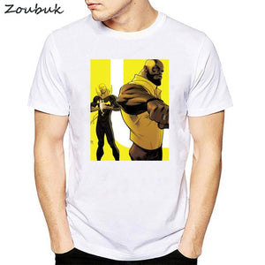 the public defenders t shirt Luke Cage and Iron Fist