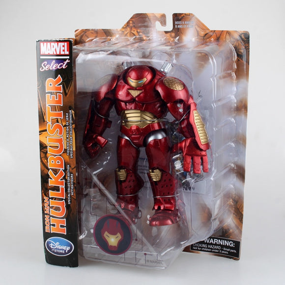 MARVEL SELECT NEGOZIO IRON MAN HULKBUSTER ACTION FIGURE KID FIGURINE GIOCATTOLO Anime Figure Da Collezione Model Toy