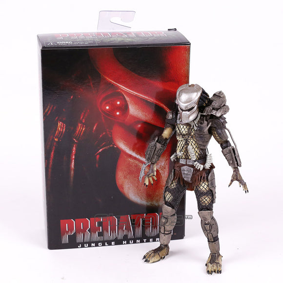 NECA PREDATOR P1 Jungle Hunter PVC Action Figure Collectible Model Toy 8inch 20cm