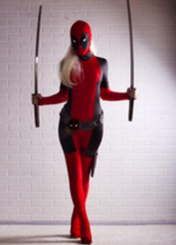 Lady Deadpool Cosplay Costume