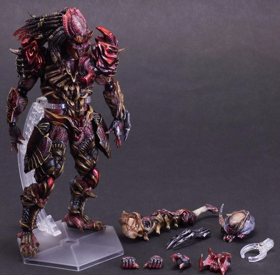 Play Arts Kai Predator Figure  Alien Hunter Primevil