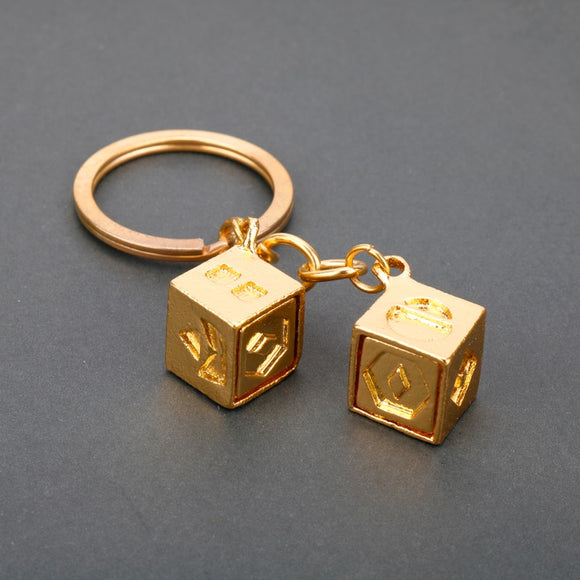 The Last Jedi Dice Charm keychain Han Solo Lucky Dice