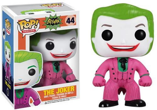 New Funko pop Official 1996 TV Series Batman DC Universe The Joker Figure Collectible Vinyl Figure Model Toy with Original box
