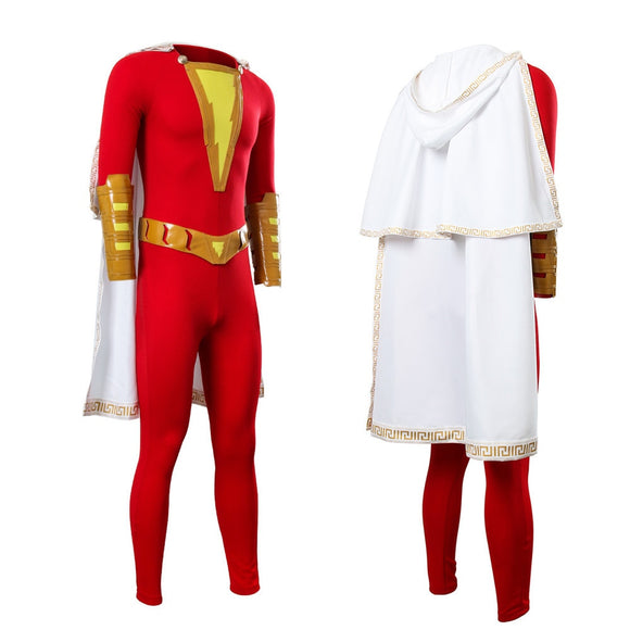 Shazam Cosplay Captain Marvel Costume