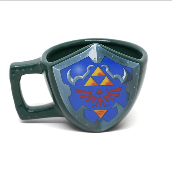 The Legend Of Zelda Cosplay Mug Ceramic Breath Of the Wild Cosplay Prop New Cup Coffee Mug Props Gift  Drop Ship