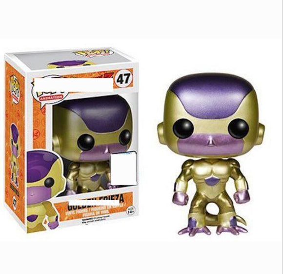 POP Japanese Amine Dragon Ball 10CM GOLDEN FRIEZA Vinyl Action Figure