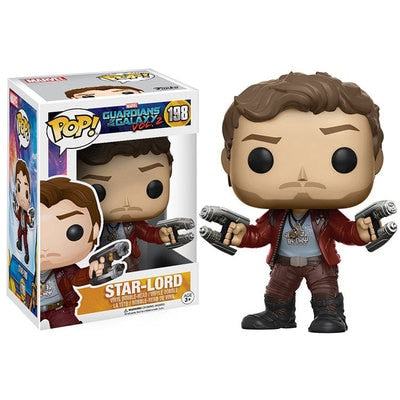 POP Guardians of the Galaxy 2 STAR-LORD 198# Marvel toys Collection