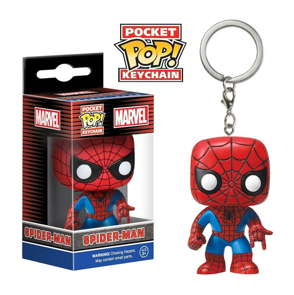 Pocket Pop Key chain Spiderman