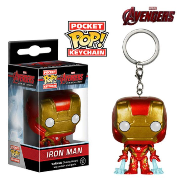 Pocket Pop Key chain Iron Man The Avengers Character