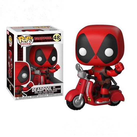 POP Marvel X-men Deadpool 48# brinquedos Collection