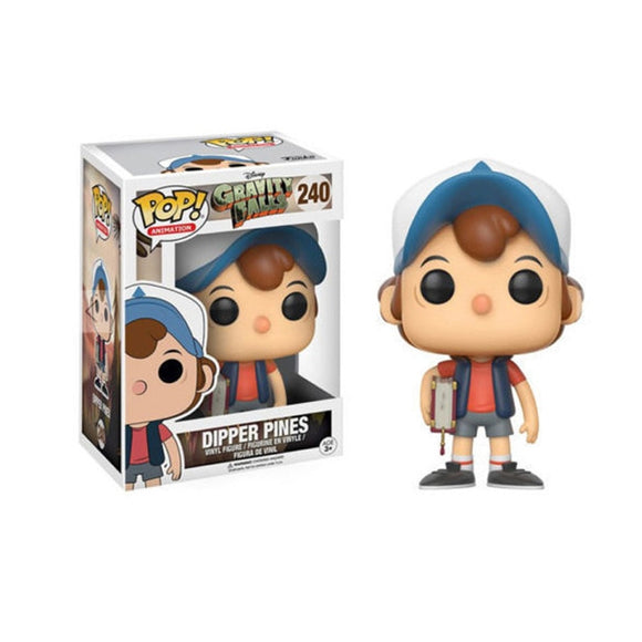 POP GRAVITY FALLS & DIPPER PINES Action Figure dolls toy 240# Collection Models
