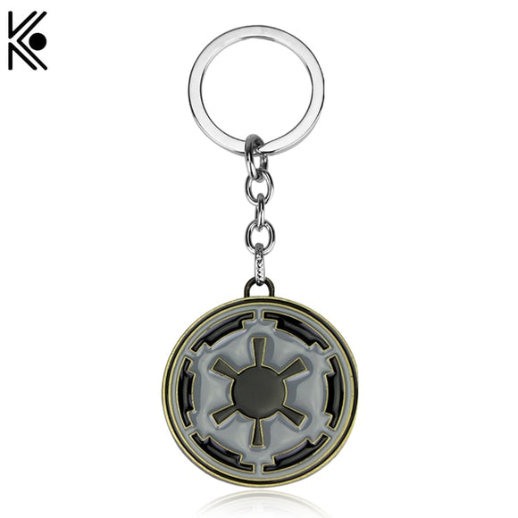 Star Wars empire logo Keychain