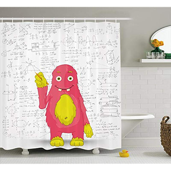Kids Decor Shower Curtain