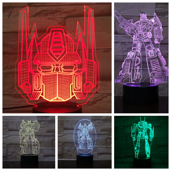 Optimus Prime LED Night Lights