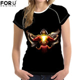 Shazam Women Slim T-shirt
