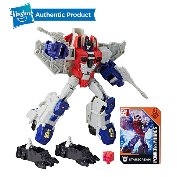 Hasbro Transformers Generations Power of the Primes  Starscream , grimlock and hin grrrr