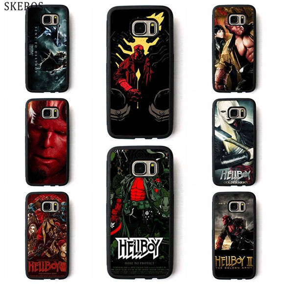 Hellboy phone case for Samsung Galaxy
