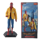 "marvel 12"" crazy toys home coming spider man with tom holland head"