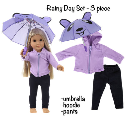 Mommy Please™ 18 Inch Doll Clothes And Accessories Fits All Dolls