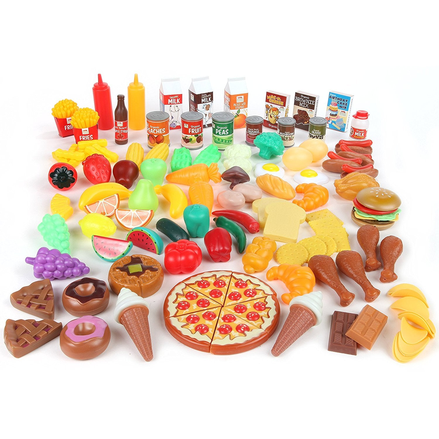 Mommy Please™ Play Food Set for Kids & Toy Food for Pretend Play