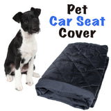 Poochie's Paradise™ Dog Car Seat Covers for Pets - Waterproof Pet Seat Protector for Backseat