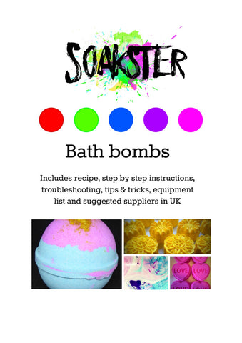 Soakster - the ultimate bath bomb recipe and complete guide
