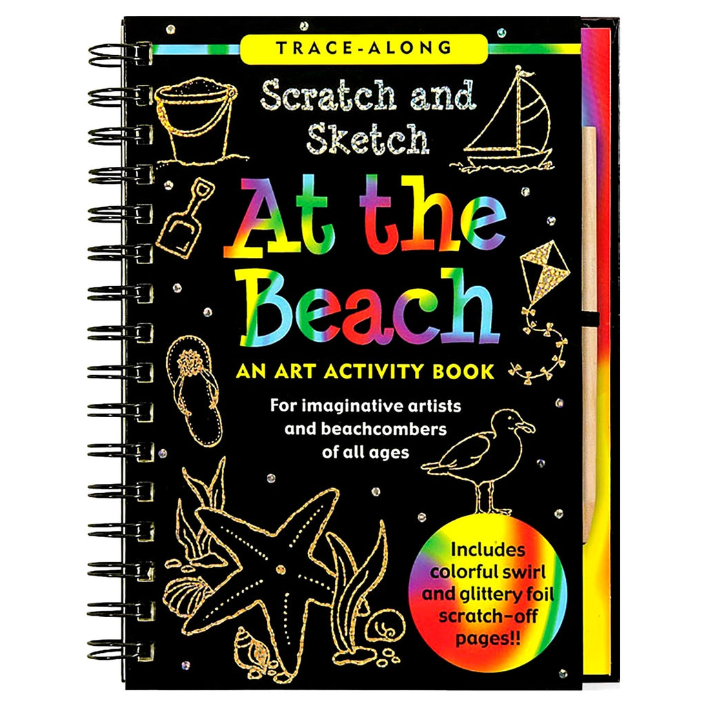 Scratch & Sketch At the Beach