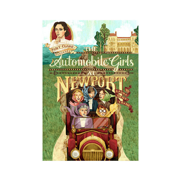 The Automobile Girls at Newport
