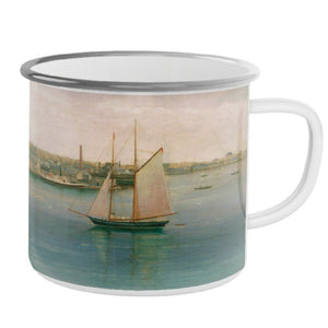 Newport Harbor Tin Mug