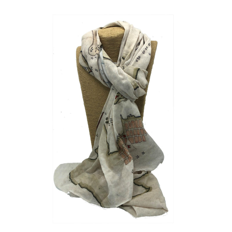 Coast Map Scarf