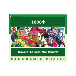 Colors Across the World, 1000 Piece Puzzle