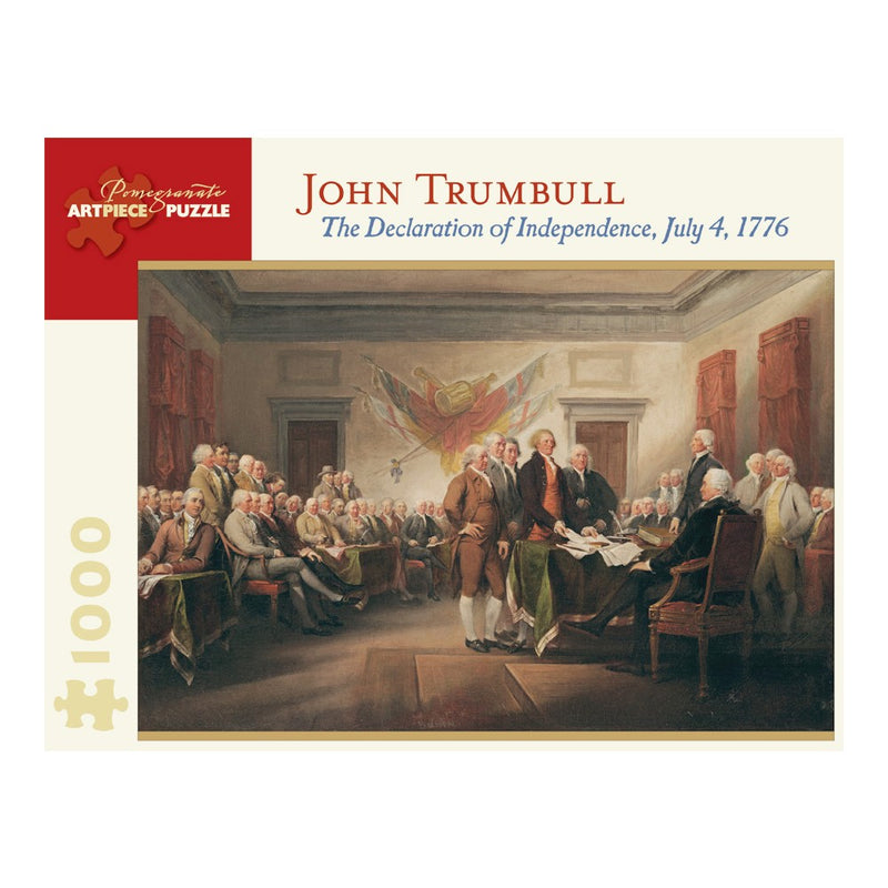 The Declaration of Independence, 1000 Piece Puzzle