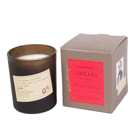 Charles Dickens Candle