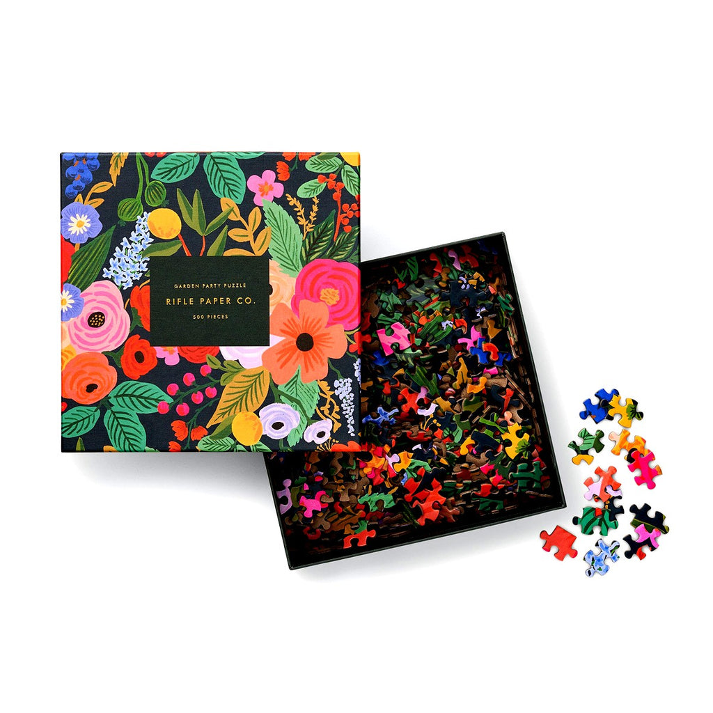 Rifle Paper Garden Party, 500 Piece Puzzle
