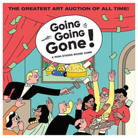Going, Going, Gone!: A High Stakes Board Game