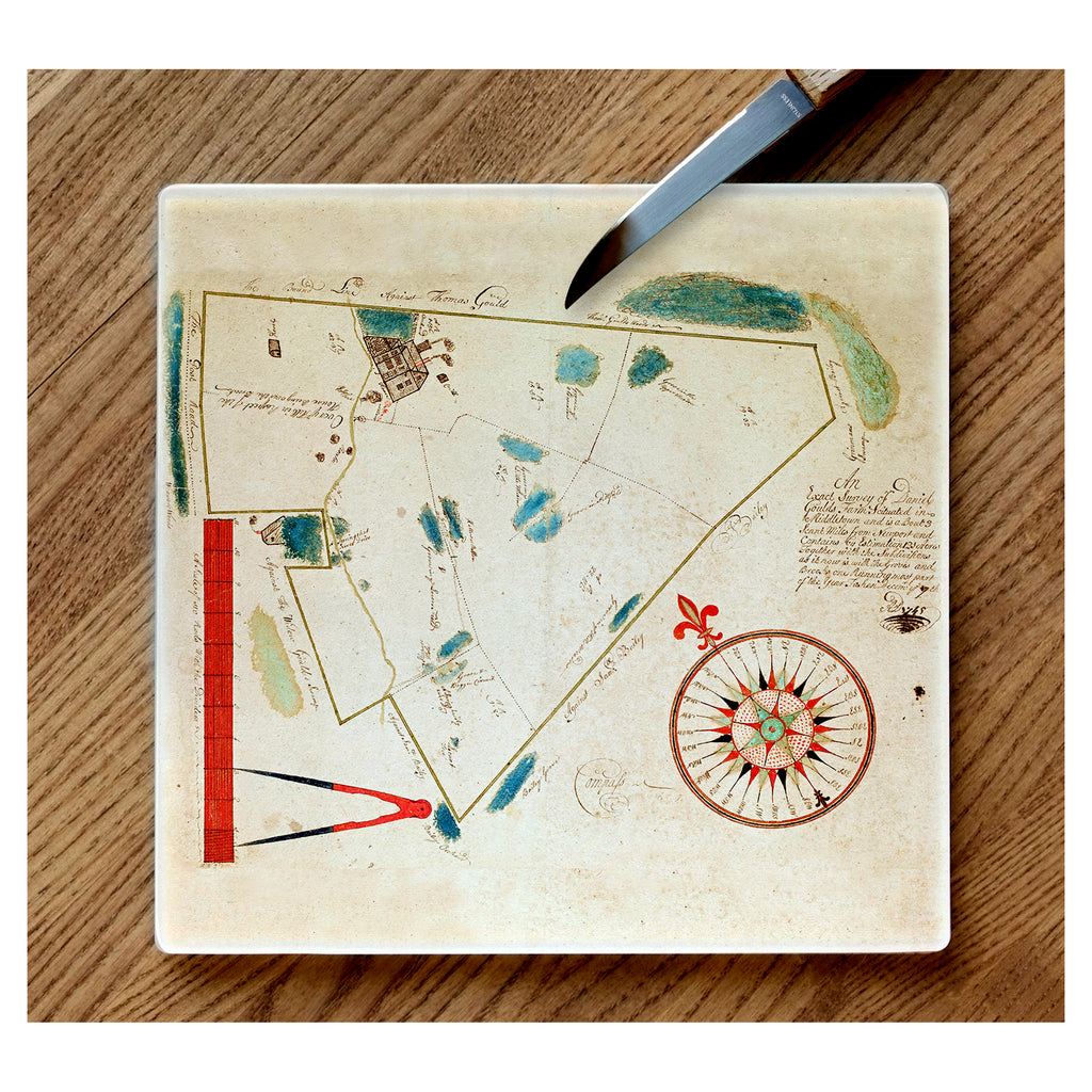 Daniel Gould's Map Cutting Board