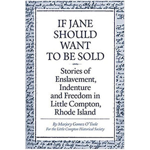 If Jane Should Want To Be Sold
