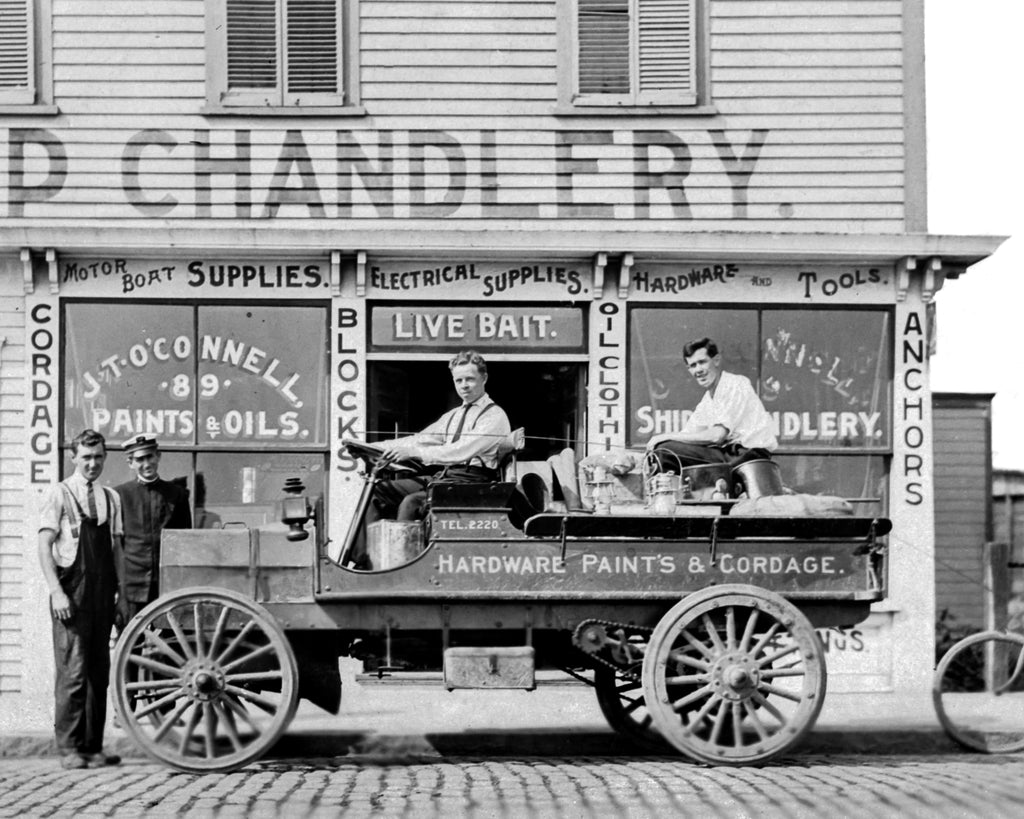 JT O'Connell's Ship Chandlery – Newport c. 1925