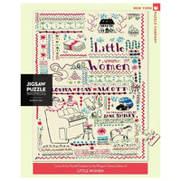 Little Women Needlework, 500 Piece Puzzle
