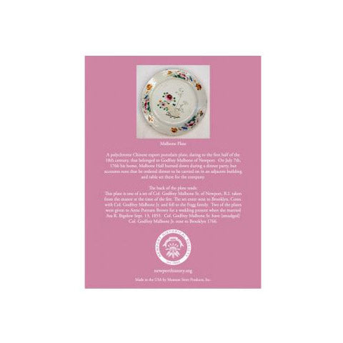 Malbone Plate Placemat & Coaster