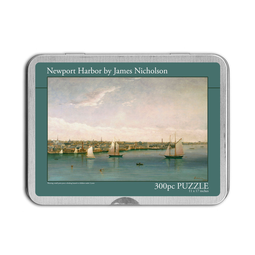 Newport Harbor, 300 Piece Puzzle