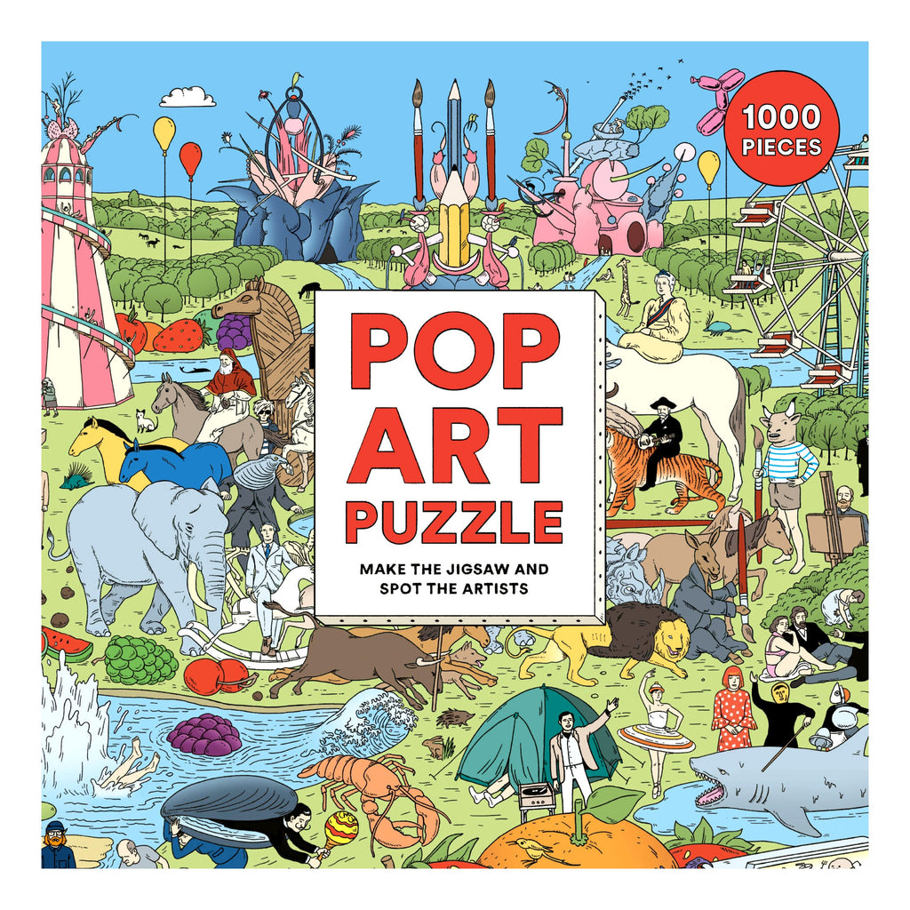 Pop Art, 1000 Piece Puzzle