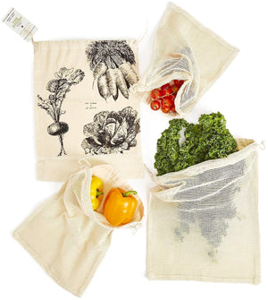 Set of 4 Produce Bags