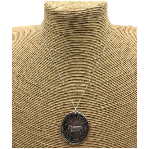 Rhode Island Seal Necklace