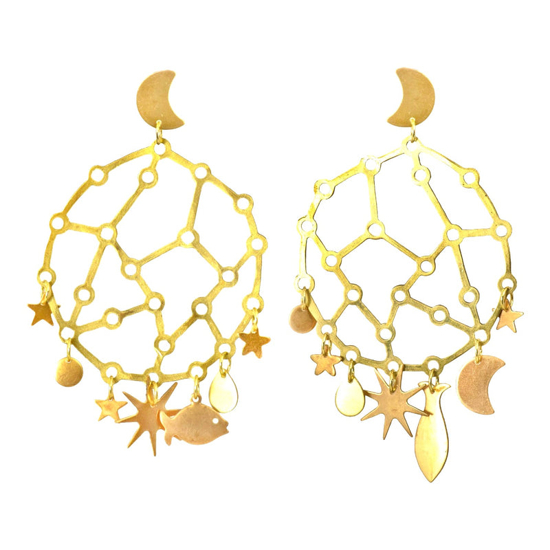 Star Chart Earrings