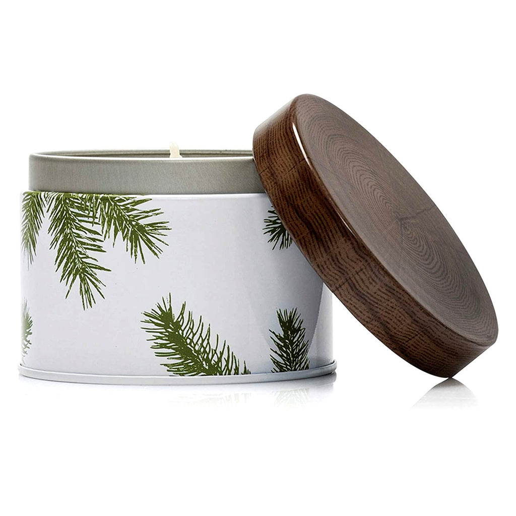 Frasier Fir Pine Needle Tin Candle