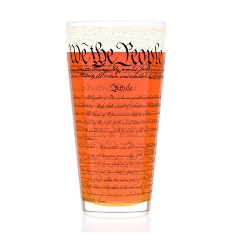 U.S. Constitution Pint Glass